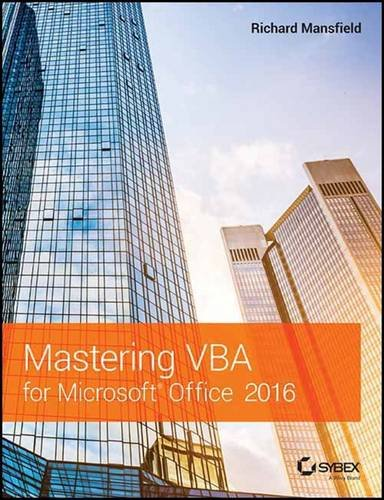 Mastering VBA for Microsoft Office 2016 (SYBEX)