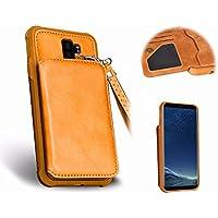 Galaxy S9 Plus PU Funda de Cuero,MingKun Cover para Samsung Galaxy S9 Plus Funda Cáscara Protectora Carcasa
