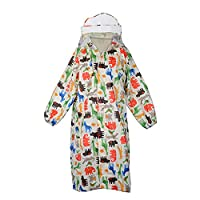 Wolfteeth Children Waterproof Kids Hooded Coat Jacket Outwear Raincoat for Travel,Outdoor,Camping,School,Riding Suit Age 2 - 4 Years