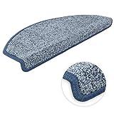 Kettelservice-Metzker Stufenmatten Ventura Halbrund Einzeln und SparSet's Hellblau 30 Stück