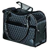 Trixie 36244 Tasche Amina, Hundetasche 18x29x37 cm schwarz