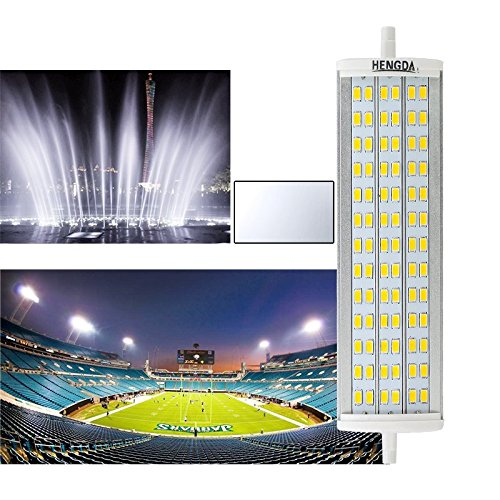 8W 14W 20W 30W SMD R7s LED Leuchtmittel 78/ 118 /189mm Stab Fluter Brenner Lampe (189mm/20watt, weiß)