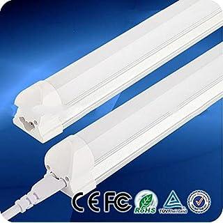 LED-Leuchtstoffröhre, 60 cm 9W T8LED-Röhre mit integrierter Fassung, Leuchtstoffröhren-Ersatz für den privaten und gewerblichen Gebrauch, 6500K (Reinweiß)
