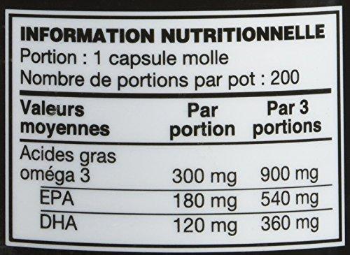 OPTIMUM NUTRITION ON Fish Oil Complément pour Sportif 200 Gélules 4.6 kg