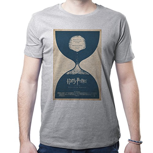 Harry Potter Film Magic Prisoner Of Azkabar Poster Herren T-Shirt Grau