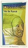 Vie de Rancé par Chateaubriand