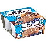 Nestlé petit gourmand choco biscuit 4x100g - ( Prix Unitaire ) - Envoi Rapide Et Soignée
