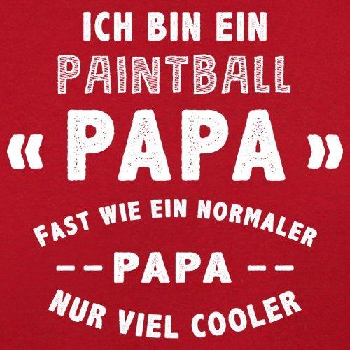 Ich bin ein Paintball Papa - Herren T-Shirt - 13 Farben Rot ...