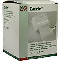 GAZIN Verbandmull 10 cmx5 m 8fach 1 St Verband preisvergleich bei billige-tabletten.eu