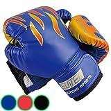 Luniquz Kinder Boxhandschuhe mit Klettschluss Klein Box-Handschuhe für Kinder von
