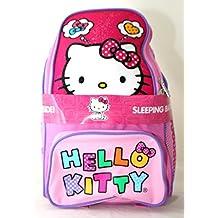 Hello Kitty 2 piezas Mochila con saco de dormir - diseño 2014
