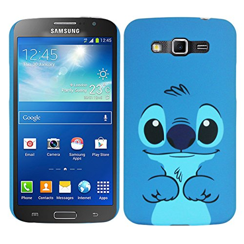 Heartly Cartoon Printed Design High Quality Hard Bumper Back Case Cover For Samsung Galaxy Grand 2 G7102 G7106 - Cartton Sky Blue  available at amazon for Rs.199