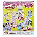 Play-Doh Hasbro E1937EU4 Disney Prinzessin Glitzer-Königreich, Knete