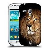 Head Case Designs Löwe Tierwelt Snap-on Schutzhülle Back Case für Samsung Galaxy S3 III mini I8190