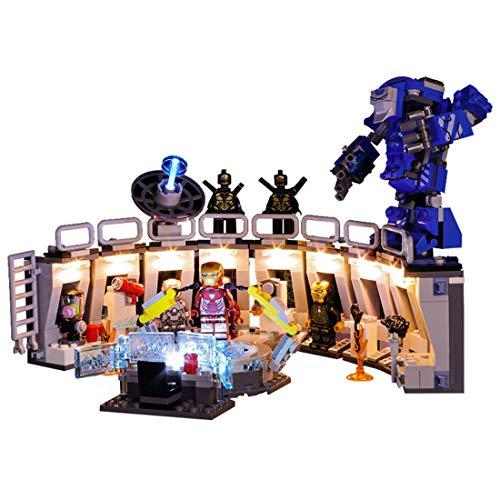 Searchyou Licht Set Kompatibel Mit Lego 76125 - Iron Man's Mech Display (Lego-Modell Nicht Enthalten, Lego-Zubehör von Drittanbietern) - Mech-modell-kit