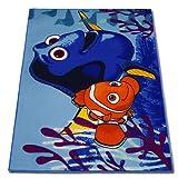 Disney Spielteppich - Kinderteppich - Teppich - Läufer 133x95cm mit Motivauswahl (Findet Dory Bubble Buddies)
