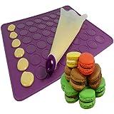 Jocca 1903 - Set de silicona para macarons, color morado