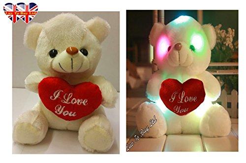 pour-enfants-ours-en-peluche-coeur-damour-avec-rougeoyant-colore-lumieres