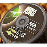 Korda Arma Kord Sinking Leader For Carp Fishing 30lb 50m Spool by Korda