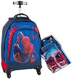 Giochi Preziosi Zaino Trolley Deluxe Spiderman 4 con Super Sorpresa