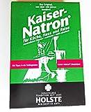Die besten Backen Sodas - 5x HOLSTE Kaiser Natron 250g Soda, Backen, kochen Bewertungen