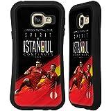 Officiel Liverpool Football Club Esprit d'Istanbul Anfield Magie Étui Coque Hybride pour Samsung Galaxy A3 (2016)