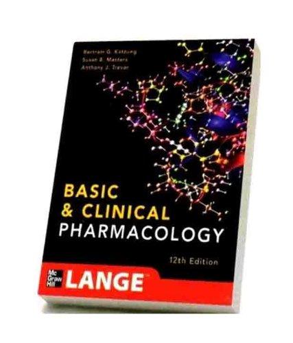 Lange Katzung Basic & Clinical Pharmacology (Old)