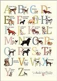 Poster 70 x 100 cm: Hunde-ABC von Martine Vuitton-Serape - Hochwertiger Kunstdruck, Kunstposter