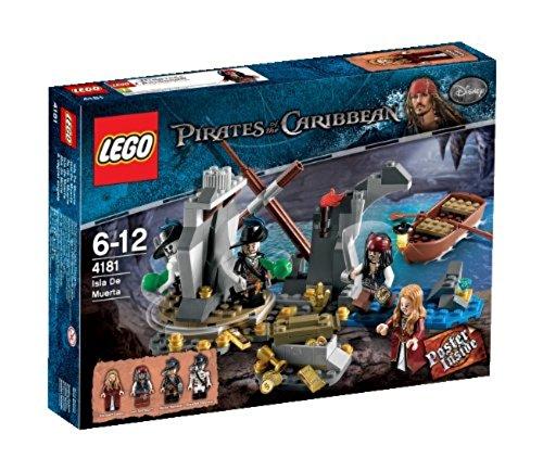LEGO Pirates of the Caribbean 4181 - Isla de Muerta (Barbossa Captain)