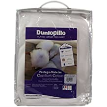 Dunlopillo PLBATH160200DPO Protector de colchón blanco 160 x 200 cm