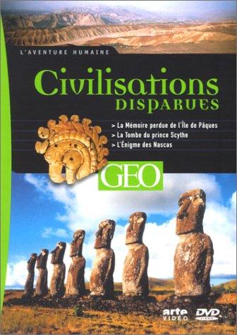 Preisvergleich Produktbild Civilisations disparues : La Mémoire perdue de lîle de Pâques / La Tombe du prince Scythe / L'Enigme des Nascas [FR Import]