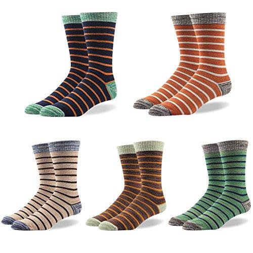 RioRiva Herren Business Socken Berufssocken boxed Arbeitssocken Anzugsocken kariert bunt für Männer ohne gummi (EU 41-48 / US 7.5-13, BSK04X- 5Paar) (Totenkopf-socken Schwarze)
