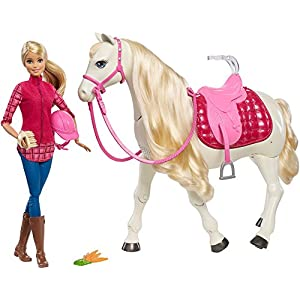 Barbie FTF02 Dreamhorse Doll and horse