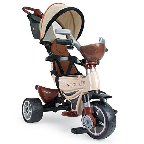 INJUSA Triciclo Body Max, color crema, 21 x 10 x 5 cm...