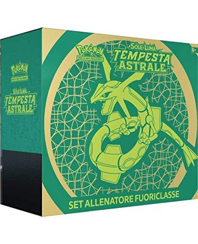 Pokémon Set Allenatore Fuoriclasse Sole e Luna Tempesta Astrale Colore Verde 110