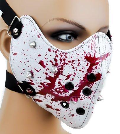 Preisvergleich Produktbild Zerfallende Bloody Spike-Motorrad, Gothic Horror-Maske