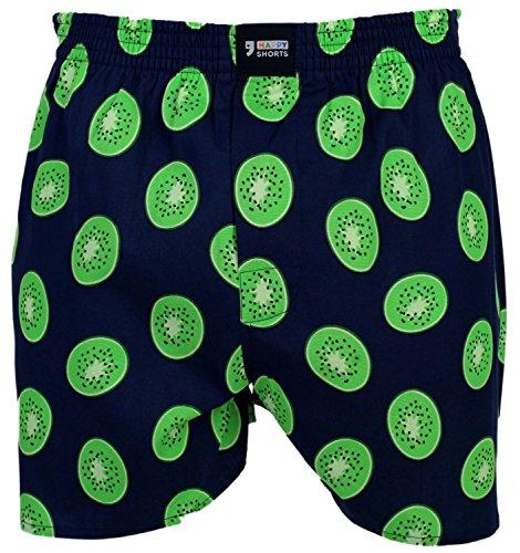 Happy Shorts Webboxer Herren Boxer Motiv Boxershorts Farbwahl, Grösse:XL - 7-54, Präzise Farbe:Design 20