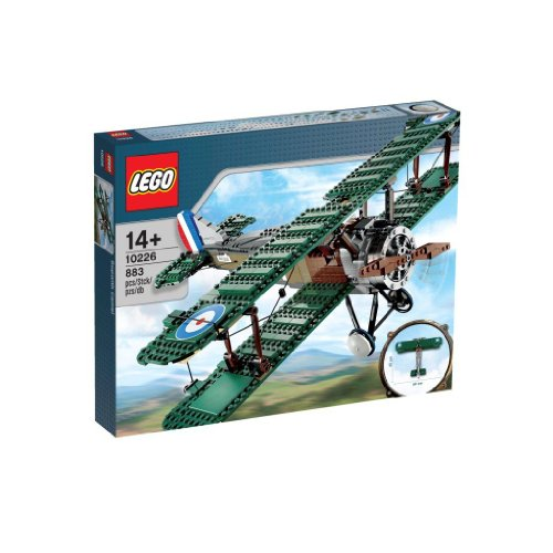 LEGO Creator - 10226 - Jeu de Construction - Sopwith Camel
