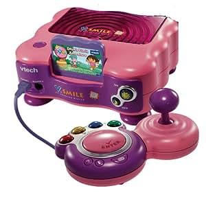Vtech v smile pink dora the explorer toys games - Console vtech vsmile pocket ...