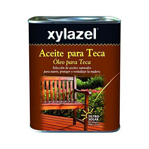 Xylazel M93821 - Aceite teca 5 l incoloro
