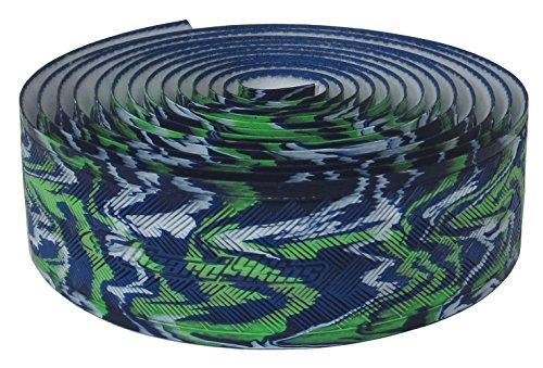 Lizard Skins li9700. Jam-Schleifenband Vorbau Fahrrad Unisex Erwachsene, Blau/Grün, 3,2mm - Skins Lizard Lenkerband