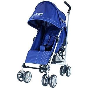 ZeTa Vooom Stroller Buggy Pushchair (Many Colours Available) Inc Raincover (Navy)   13