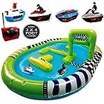 Jumbo Inflatable Pool Twin Radio Remo...