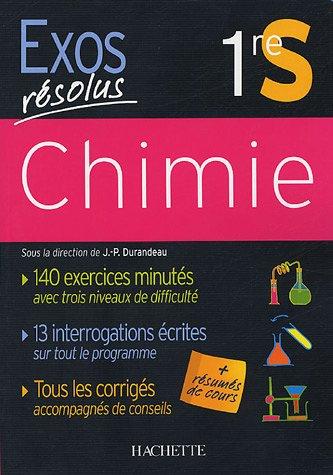 Chimie 1e S