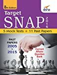 """Target Snap 2016 - Past (2005 - 2015) + 5 Mock Tests"""" contains the detailed solutions of SNAP Question Papers from 2005 to 2015.  The book also contains 5 Mock tests designed exactly as per the latest pattern of SNAP.  As the pattern of SNAP is chang..."""