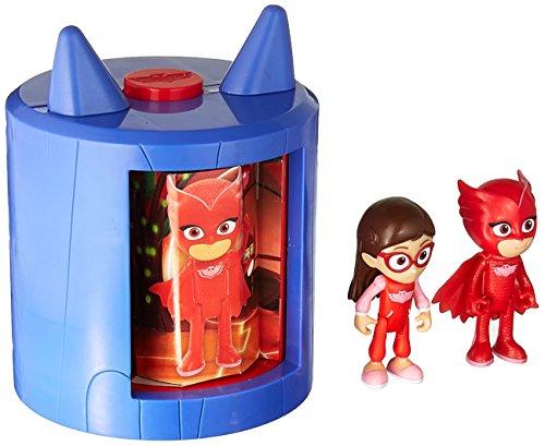 2 Mad Kostüm Max - PJ Masken Verwandelbares Figurenset-Owlette