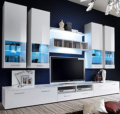 muebles bonitos - Mueble de salón Arlesa Blanco 3M