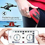 Hanbaili RC Quadcopter, 2.4G 6-Axis Altitude Hold 3D Flips Helicopter With FPV HD Camera WiFi Live Video App Phone Control Drone