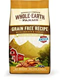 Whole Earth Farms Grain Free Chicken and Turkey Recipe Dry Dog Food, 4-Pound