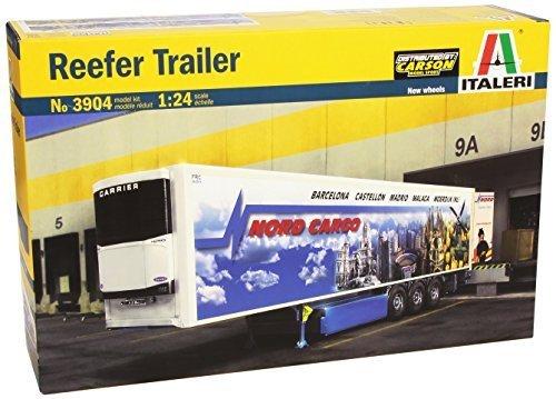 Italeri 3904 1:24 Reefer Trailer Model Truck Kit by Italeri